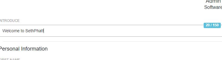 JQuery Input Text Counter